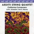 Cover for Cohn/Goldstein/Davis/Stalvey: Music for String Quartet