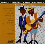 Cover for DePaul University Wind Ensemble: Friends in Low Places