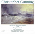 Cover for Christopher Gunning: Orchestral Works