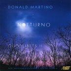 Cover for Donald Martino: Notturno