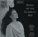 Cover for Patrice Michaels Bedi: Songs of the Classical Age
