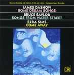 Cover for Dashow, Saylor & Sims: Vocal Works