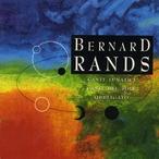 Cover for Music of Bernard Rands