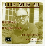 Cover for Hugo Weisgall: Two Operas and Two Song Cycles