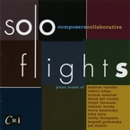 Cover for Composers Collaborative: Solo Flights