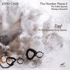 Cover for John Cage Edition, Vol. 19: The Number Pieces 2