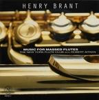 Cover for Henry Brant: Music For Massed Flutes